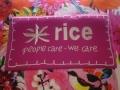 Nieuwe kleurrijke collectie rice binnen